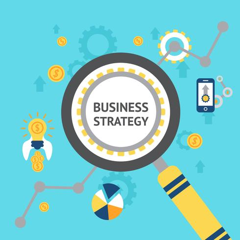 Business Analyse Konzept Abbildung vektor