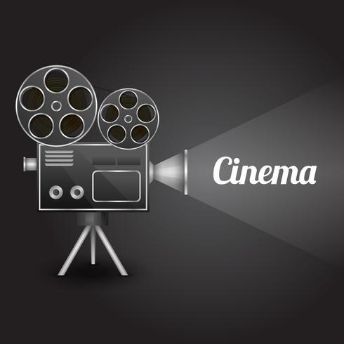 Cinema underhållning affisch vektor