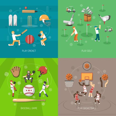 Sport-Design-Konzept vektor
