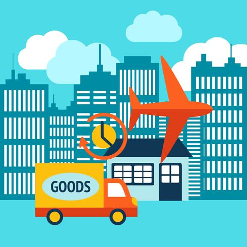 24h-Interneteinkaufsservice für Geschäftskunden vektor