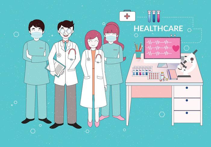 Sjukvård vektor