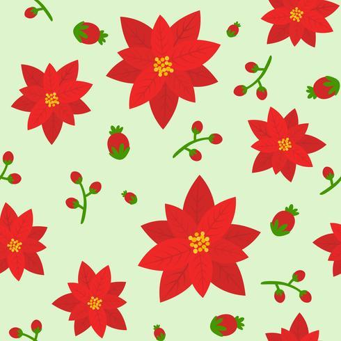 nahtloses Blumenmuster, flaches Design für den Einsatz als Hintergrund vektor