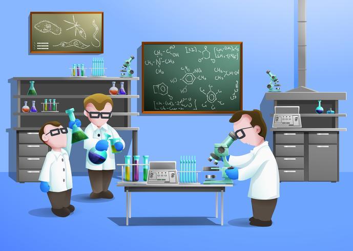 Chemical Laboratory Concept vektor