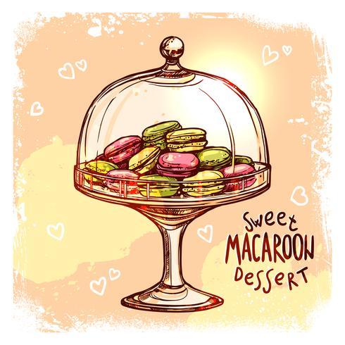 Süßigkeitenglas-Skizze vektor