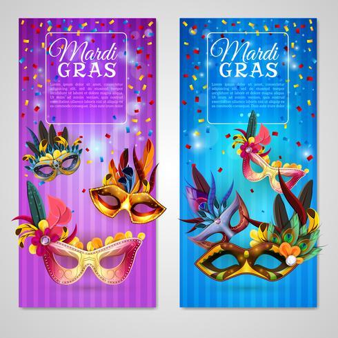 Carnival Banners Set vektor