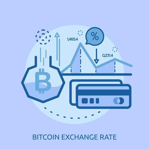 Euro-Wechselkurs konzeptionelle Illustration Design vektor