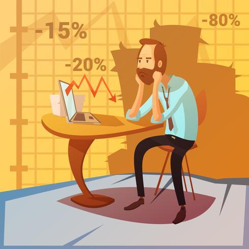 Business Failure Illustration vektor