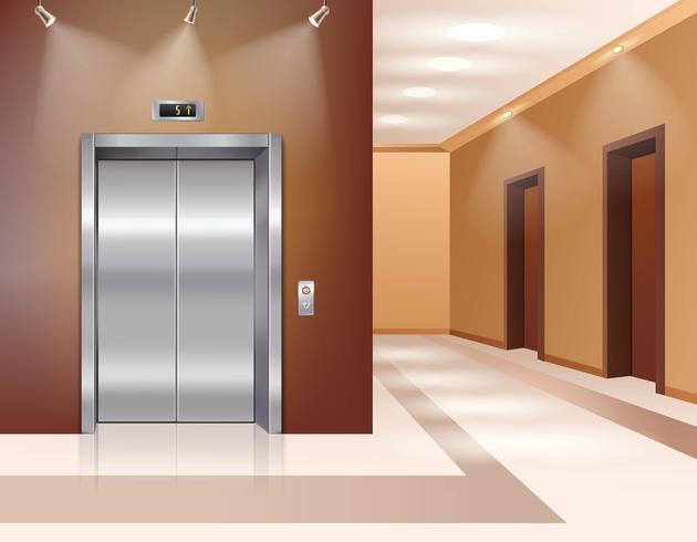 Hall med hiss vektor