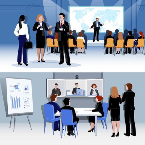 Människor mötesbegrepp vektor