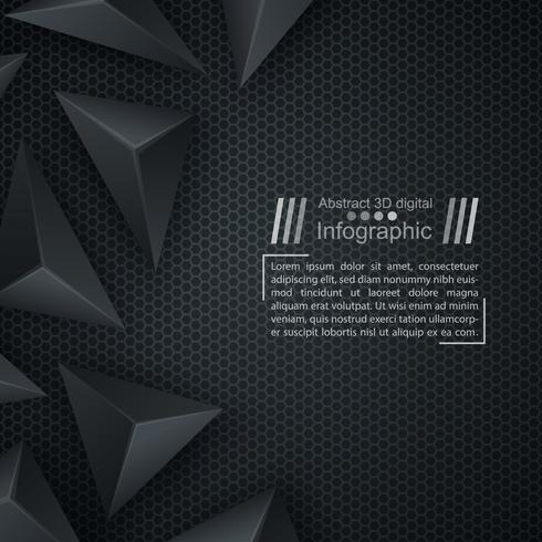 Business pappersmall - origami bakgrund. vektor
