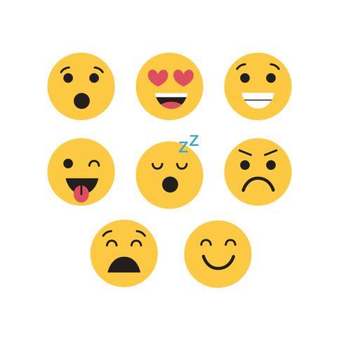 Emojis Vector Set