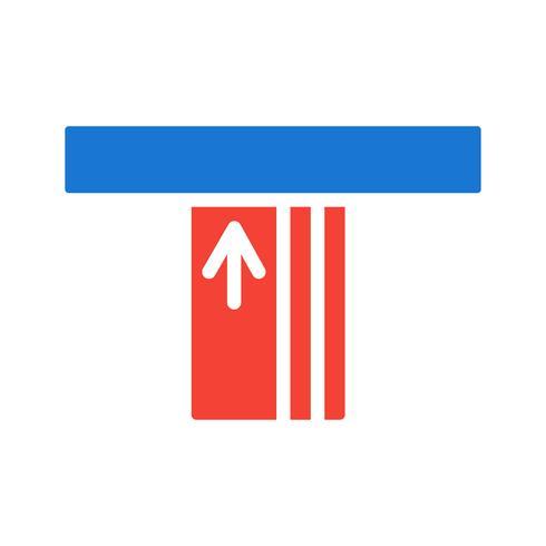 atm icon design vektor