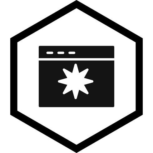 Icon-Design für die Seitenqualität vektor