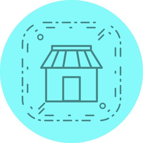 Shop-Icon-Design vektor