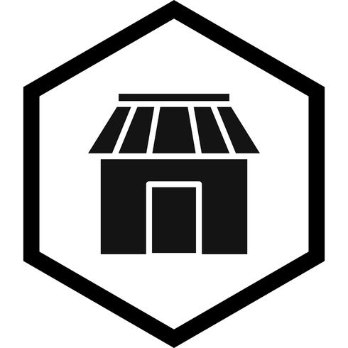 Shop-Icon-Design vektor
