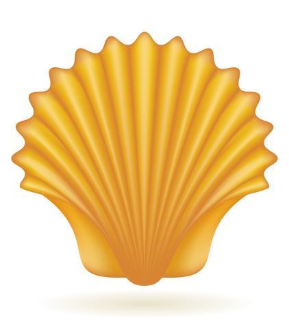 Shell-Meer-Vektor-Illustration vektor