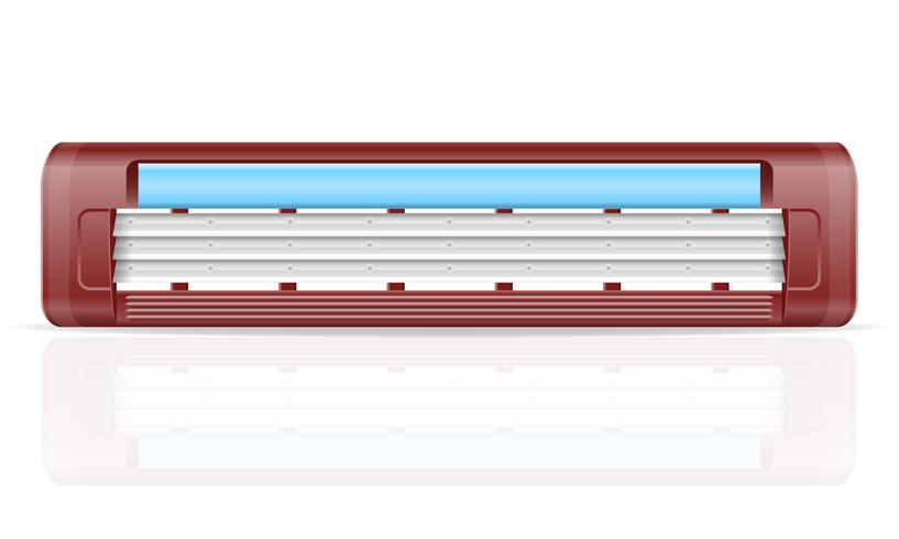 blad för razer lager vektor illustration