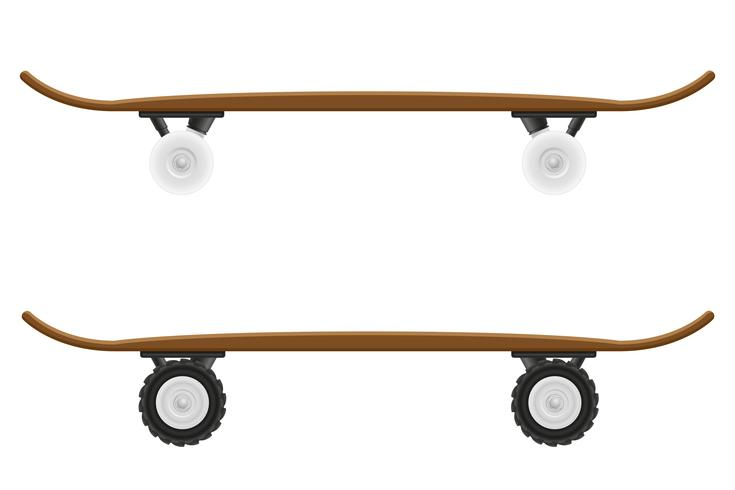 skateboard vektor illustration