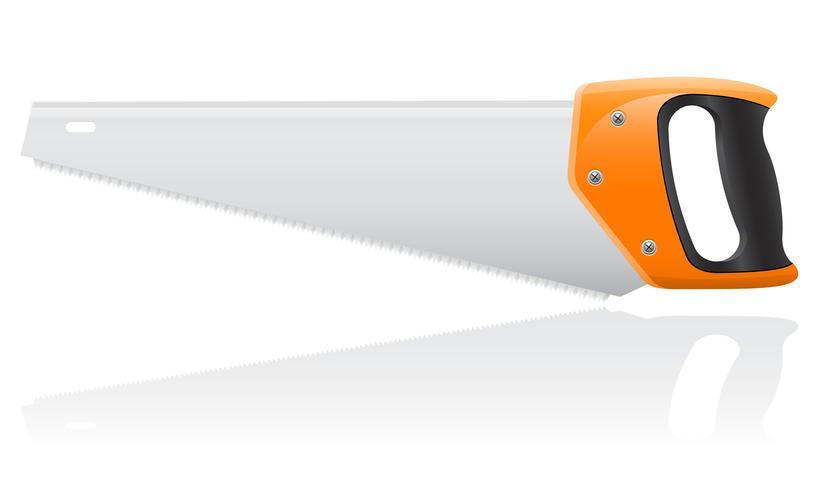 verktygssåg vektor illustration