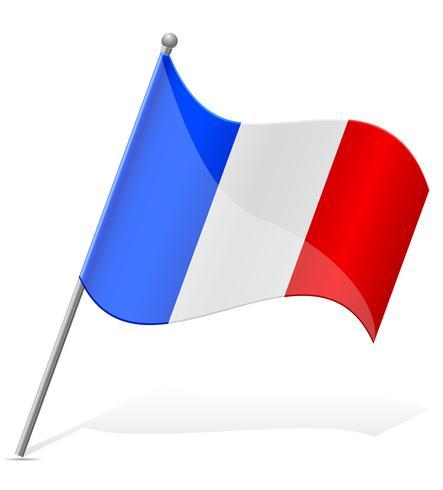 Flagge der Mayotte-Vektor-Illustration vektor