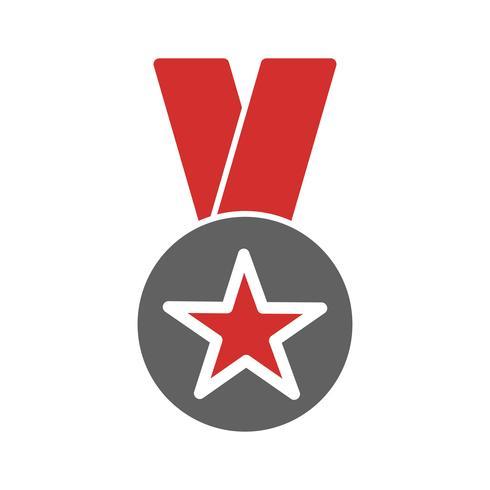 Award-Icon-Design vektor