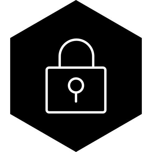 Icon-Design sperren vektor