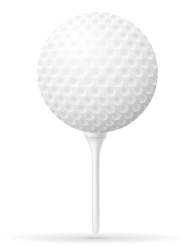 golfboll vektor illustration