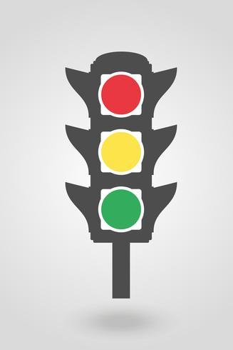 ikon trafikljus för bilar vektor illustration