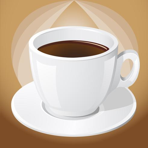 Tasse Kaffee vektor