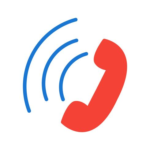 aktiv call icon design vektor