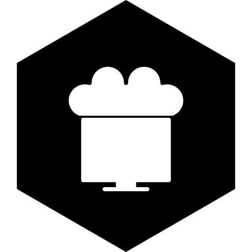 Verbunden mit Cloud Icon Design vektor