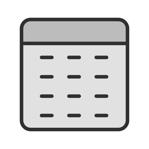 Kalkylator Icon Design vektor