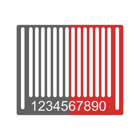 Streckkod Ikon Design vektor