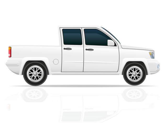 Auto-Pick-up-Vektor-Illustration vektor