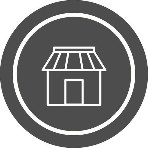 butik ikon design vektor