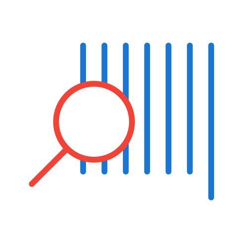 Hitta produktikondesign vektor