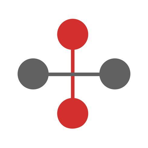 Link Building Icon Design vektor