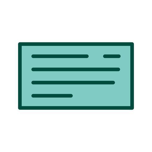 Kontrollera ikondesign vektor