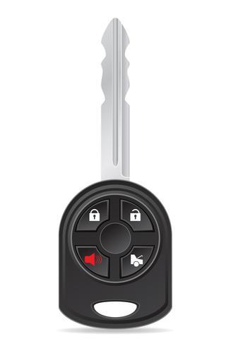 Autoschlüssel-Vektor-Illustration vektor