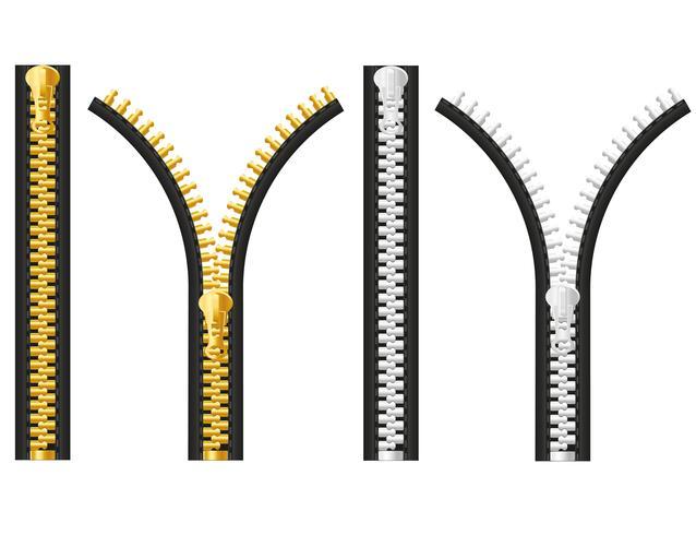 Reißverschluss-Vektor-Illustration vektor