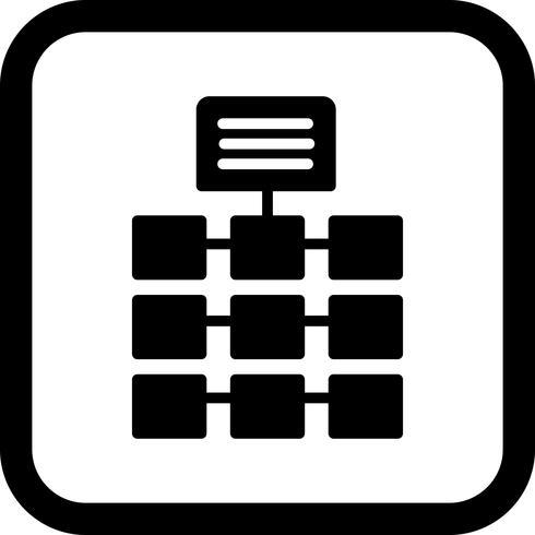Netzwerk-Icon-Design vektor