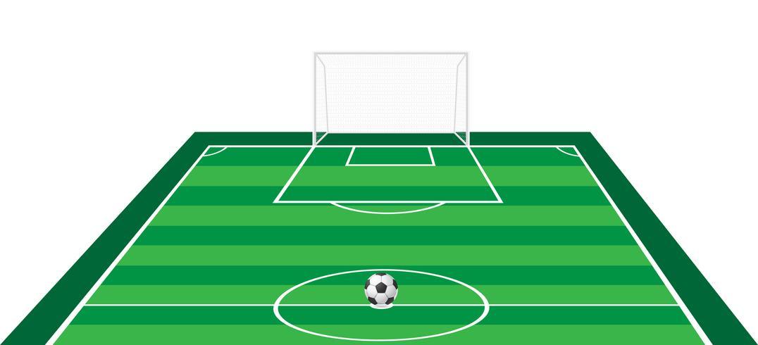 Fußball Fußball-Vektor-Illustration vektor