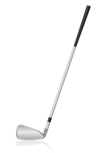 golfklubb vektor illustration