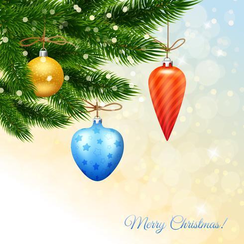 God julaffisch vektor