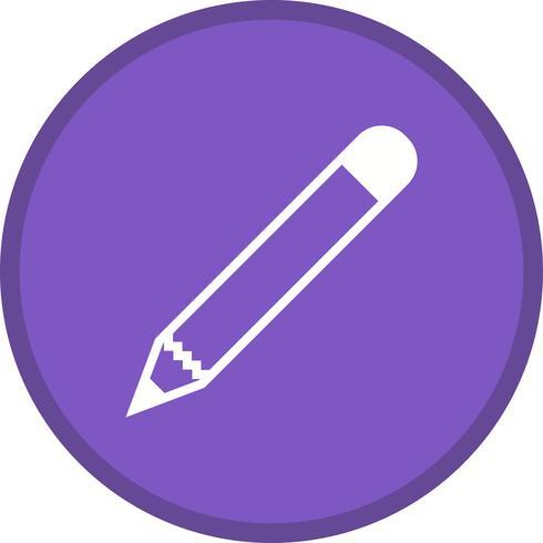 Mehrfarbiger Hintergrund der Bleistift-Glyphe vektor