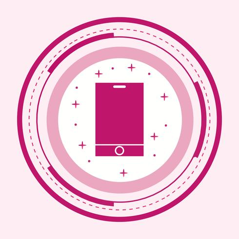 intelligentes Geräte-Icon-Design vektor