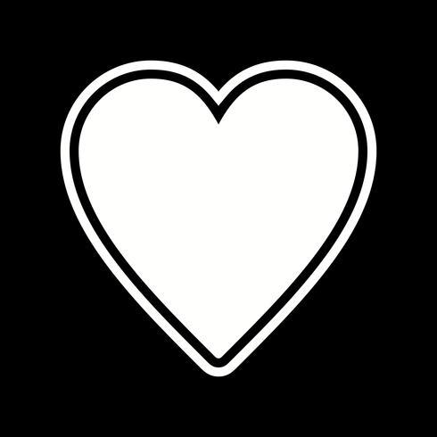 Lieblings-Icon-Design vektor