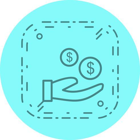 Käufer Icon Design vektor