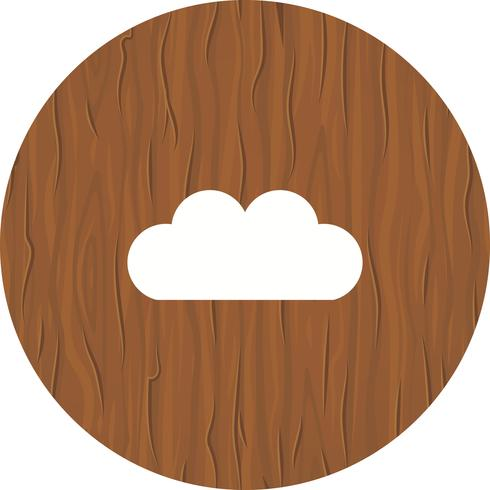 Cloud-Icon-Design vektor