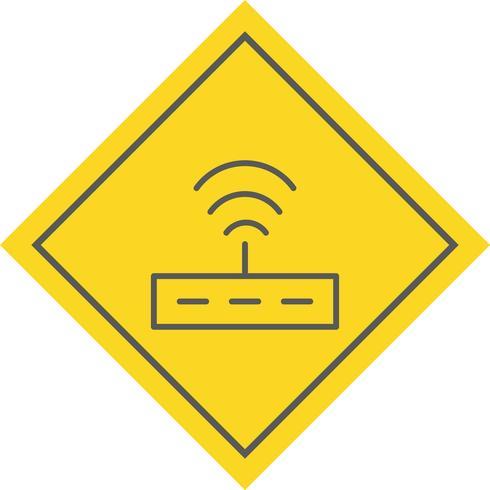 Router-Icon-Design vektor